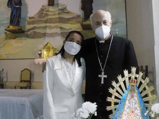 Laura Fernández, una nueva Virgen Consagrada - Feliciano de fiesta