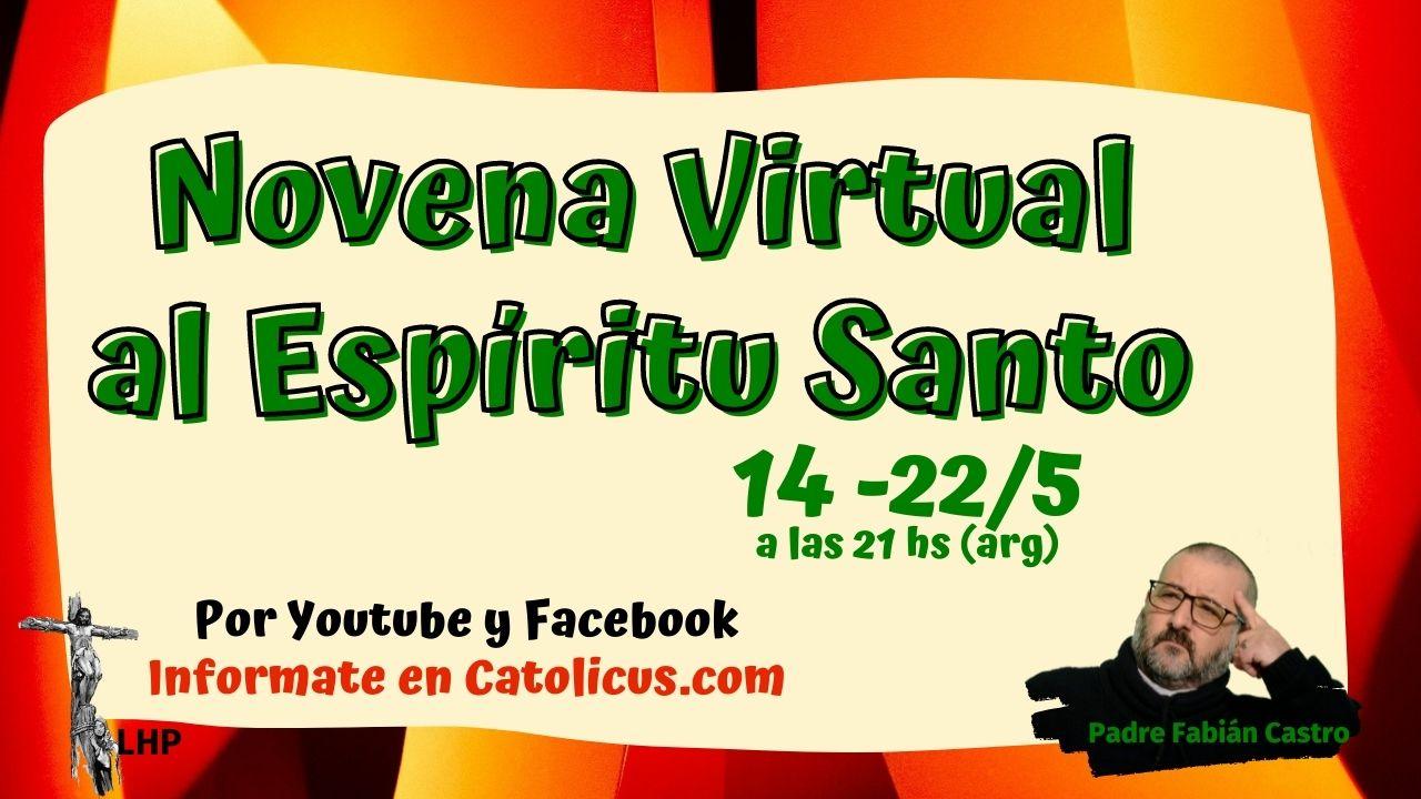 ? Novena al Espíritu Santo - Este 2021 por Youtube y Facebok ?️ UNITE