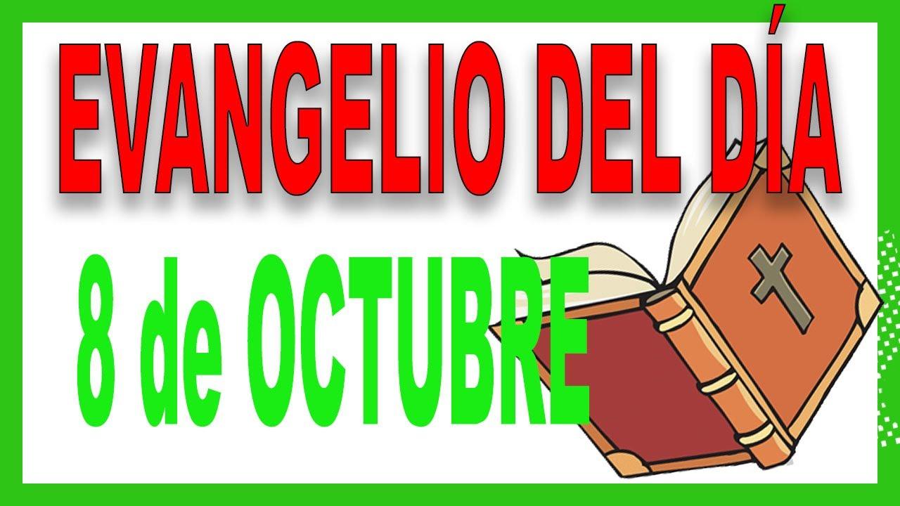 ᐅ Evangelio del día 8 de octubre con el Padre Guillermo Serra