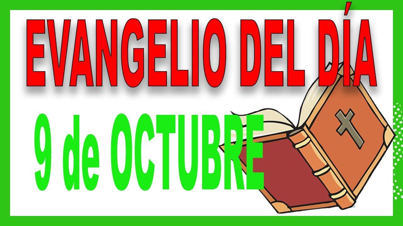 ᐅ Evangelio del día 9 de octubre con el Padre Guillermo Serra
